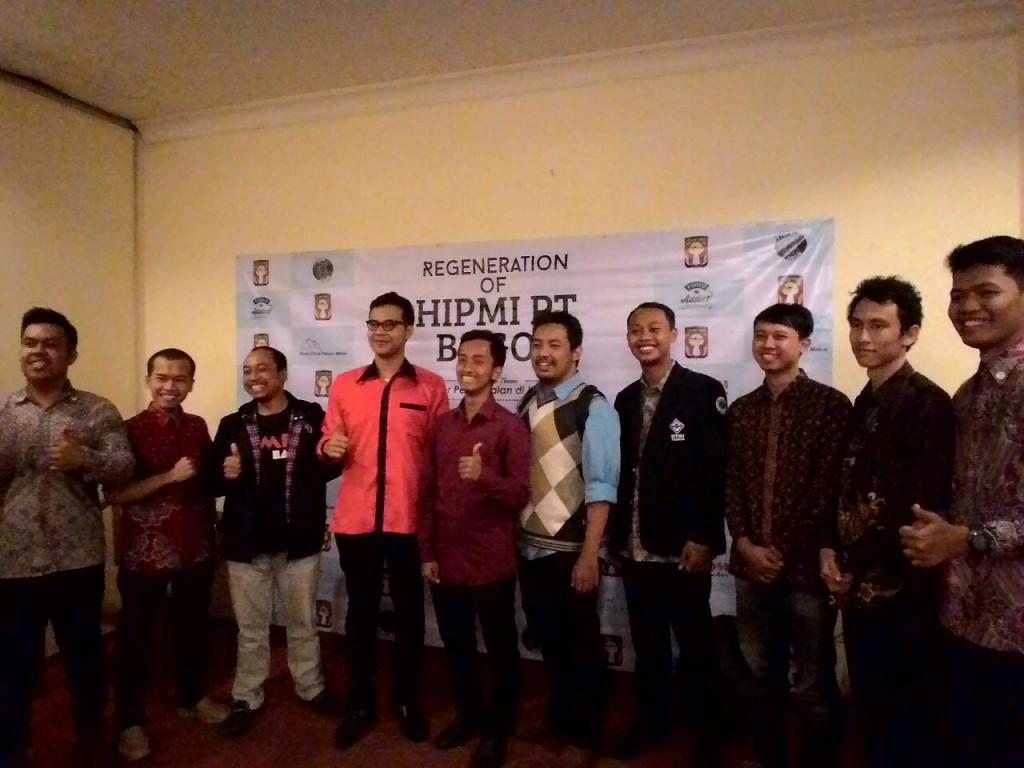 Foto bersama IPB EC dan HIPMI Bogor