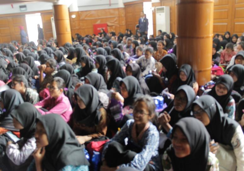 Generasi Cakra Nusantara tampak menikmati penyampaian materi