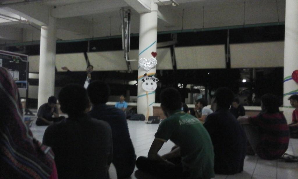 Suasana Diskusi Lanjutan Fapet  mengenai Green Campus