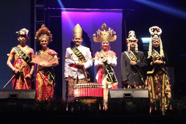 Putra-putri Bali, Lampung, dan Jawa Timur berhasil menjadi tiga besar putra-putri Omda terbaik