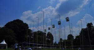 pelaksanaan kontes ayam bekisar yang bertempat di Lapangan Kampus IPB Baranang Siang