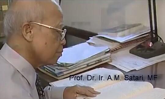 (Prof H AM Satari - sumber: Video Alumni IPB)