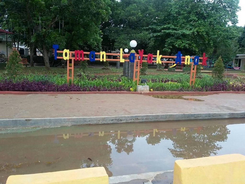 Taman Layak Anak Cilegon (Foto oleh : Ika Nurmalita)