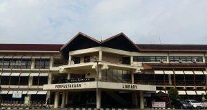Perpustakaan Pusat IPB (Foto olwh : Ulfah DK)