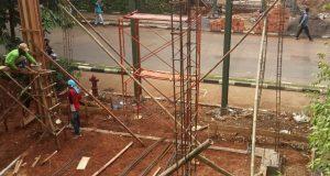 Pembangunan selasar di depan node ARL hingga berlin IPB