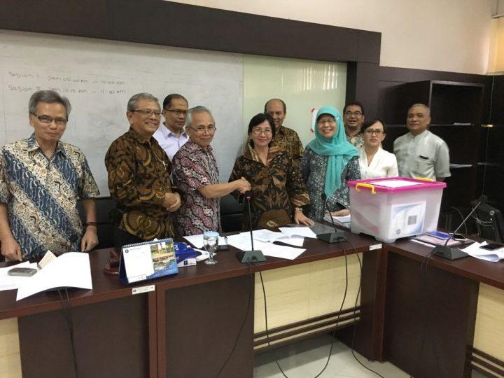 Penyerahan Laporan PPR kepada MWA IPB (Foto:ppr.ipb.ac.id)