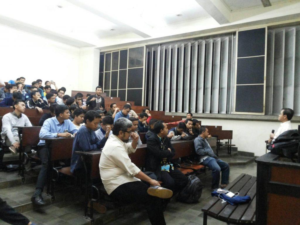 Acara diikuti oleh KA BEM KM IPB yang dilaksanakan di Baranangsiang (Foto oleh : Digna Orwiantari)