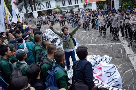 Aksi 3 tahun Jokowi-JK 20 Oktober 2017 (sumber foto : tirto.id)