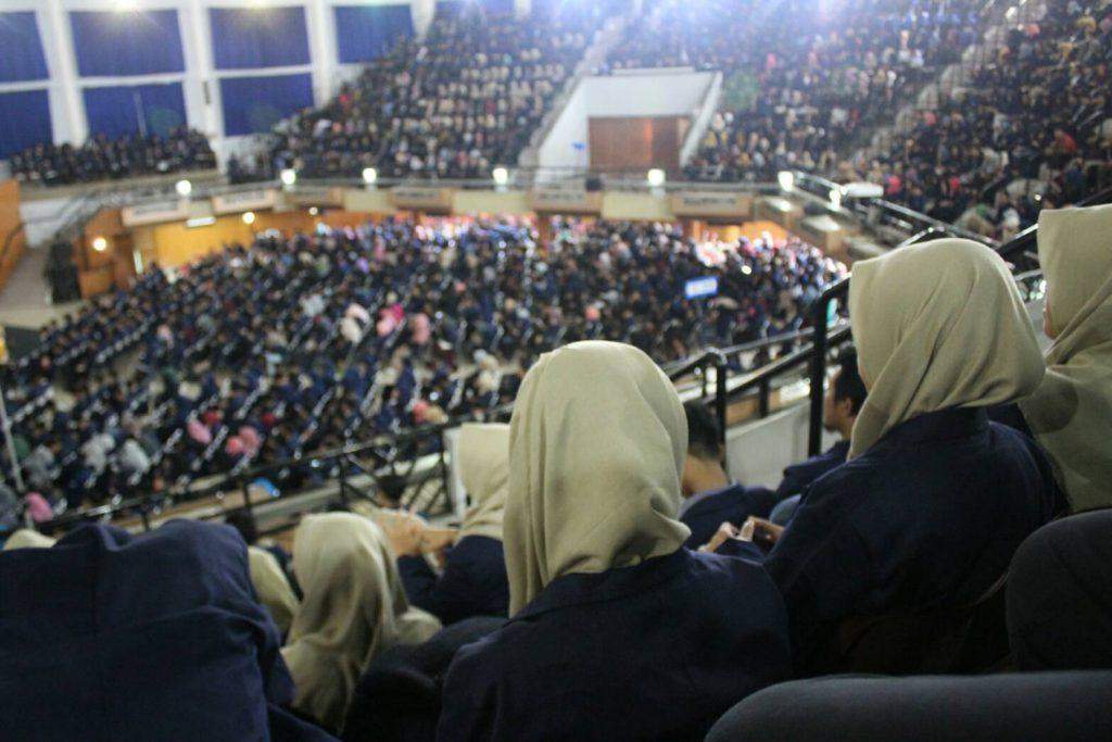 Suasana GWW yang penuh semangat para penerus Ormawa IPB (Foto oleh: Annisa Latifa C)